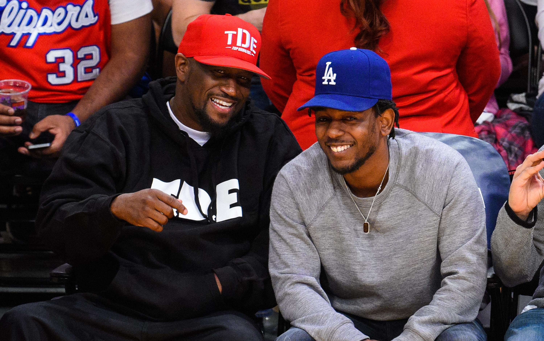 Top Dawg and Kendrick Lamar