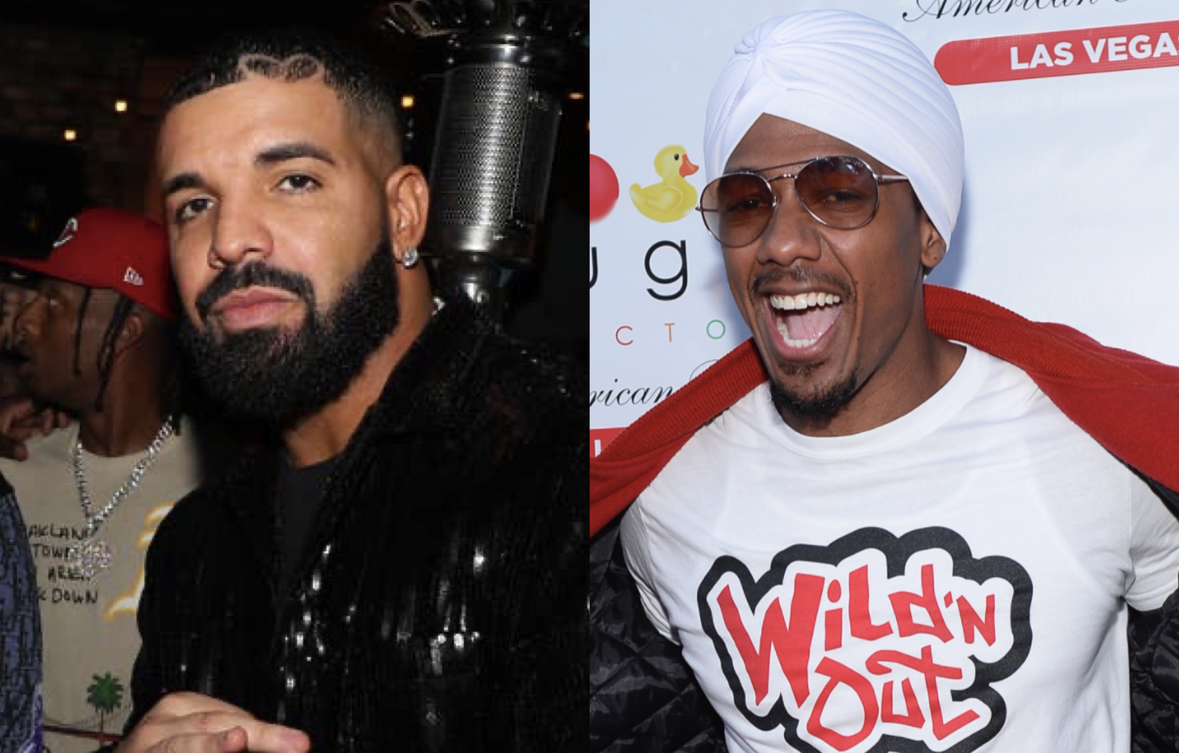 Drake and Nick Cannon