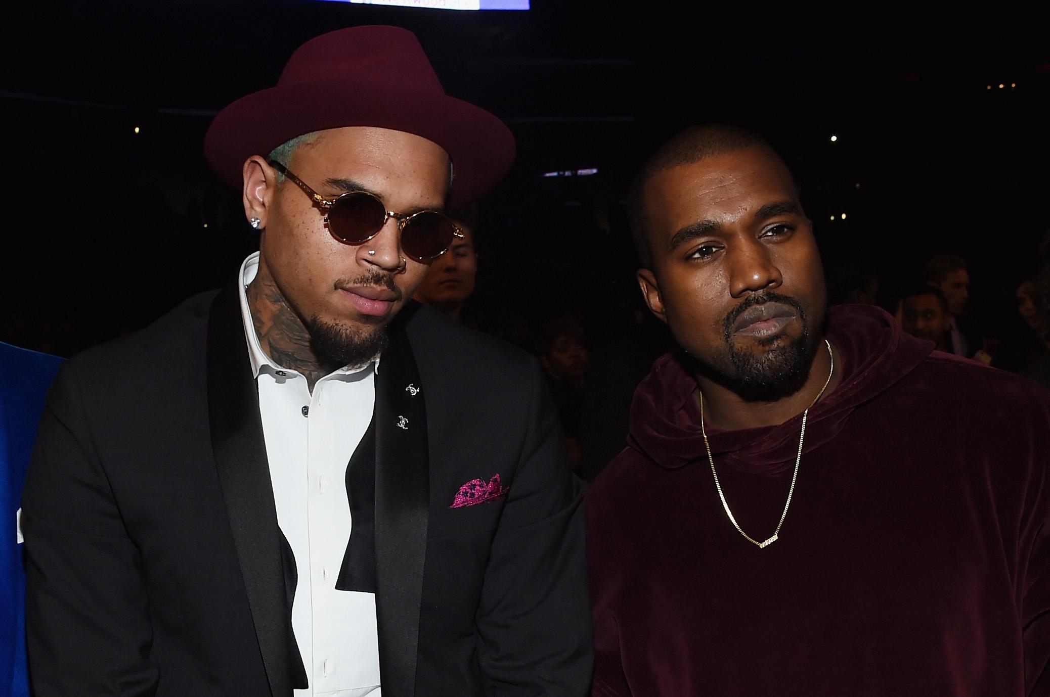 Kanye West, Chris Brown