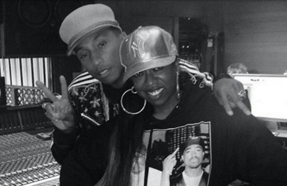 Pharrell and Missy