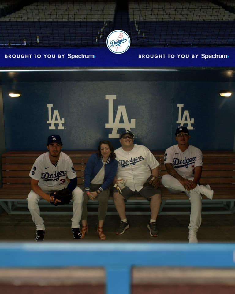 Just hanging out with Belli and Urias