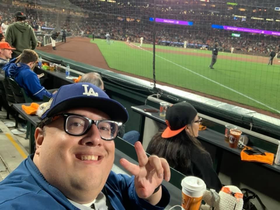 Selfie of MJE in his seat
