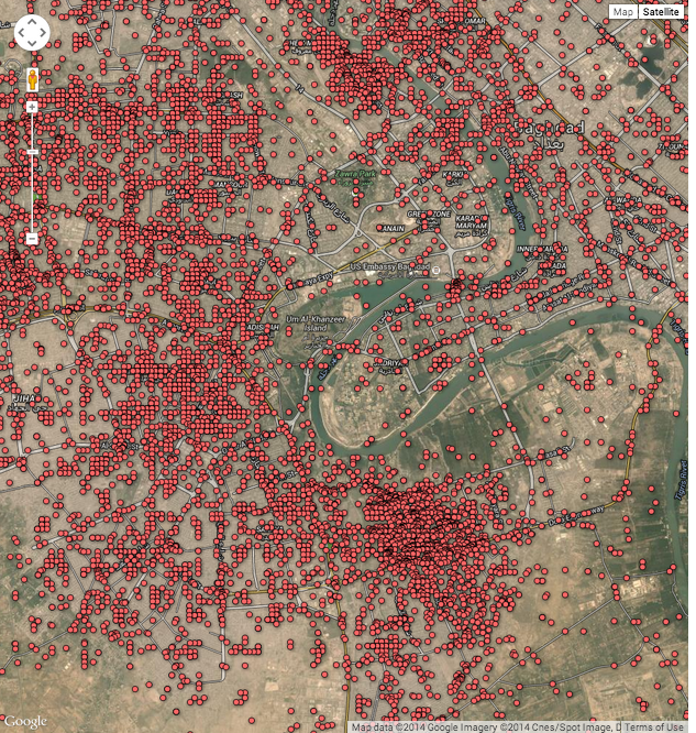 Map: ISIS is just the latest in Baghdad's decade of hell