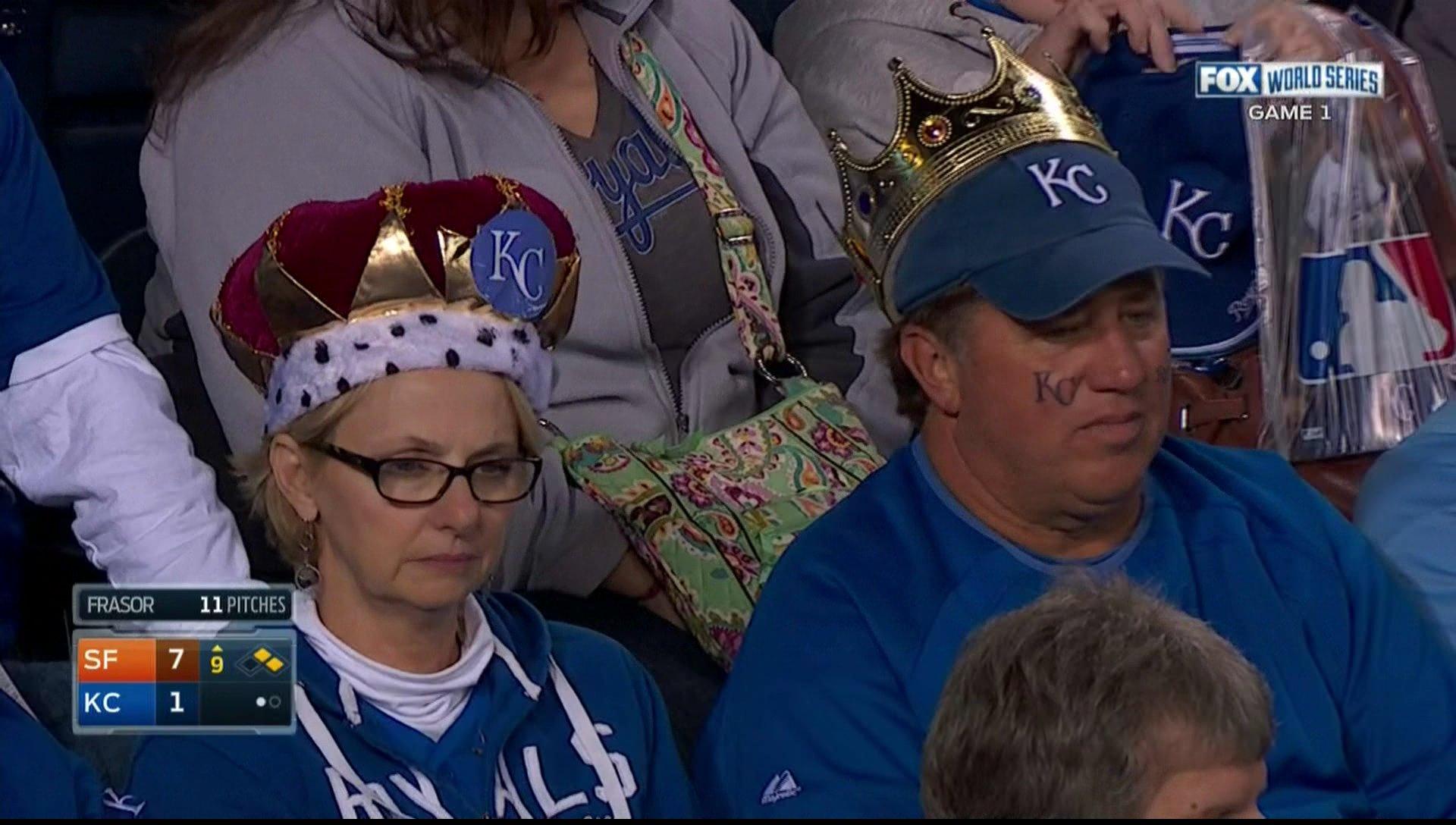 Sad Royals fans dressed up as actual Royals :( :( :(