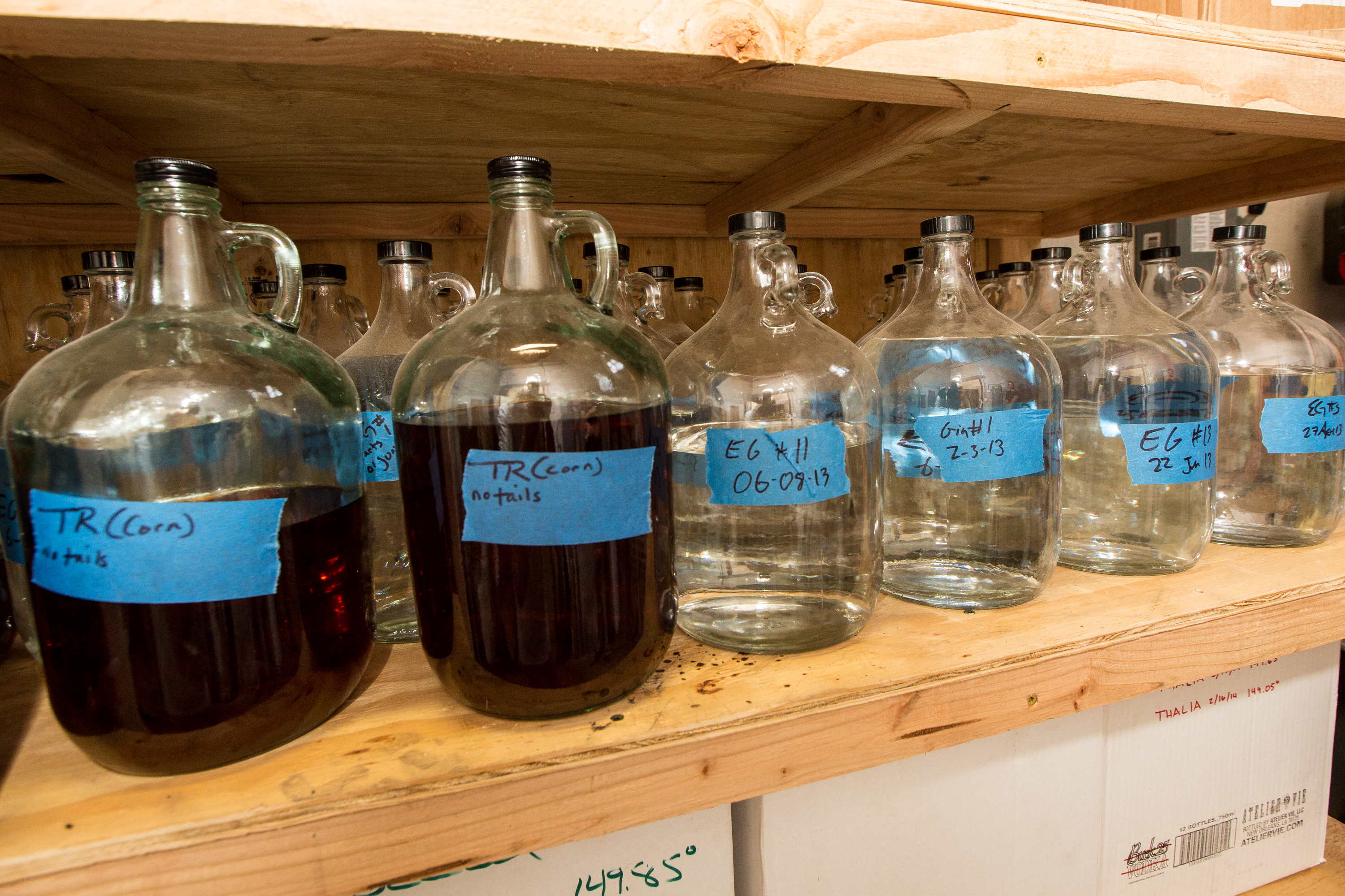 A Look Inside Local Distillery Atelier Vie - Eater New Orleans