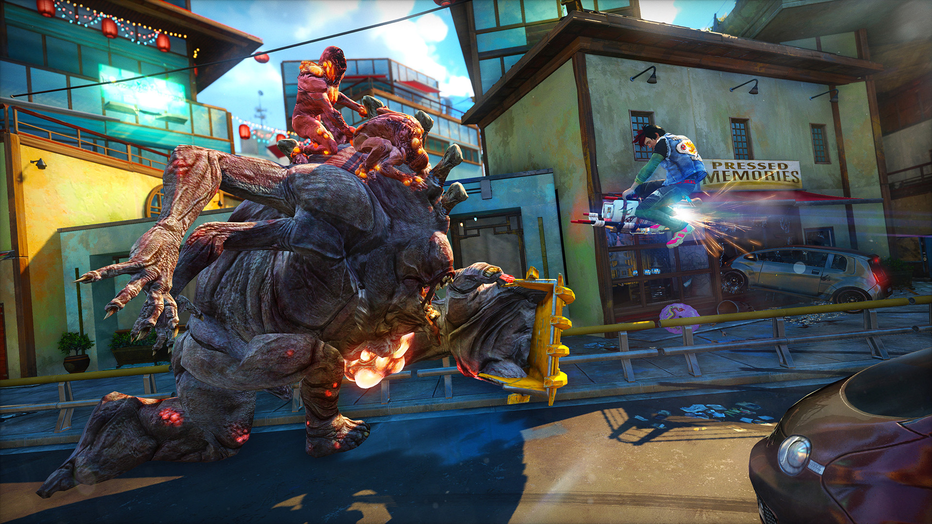 Sunset Overdrive review: agent orange