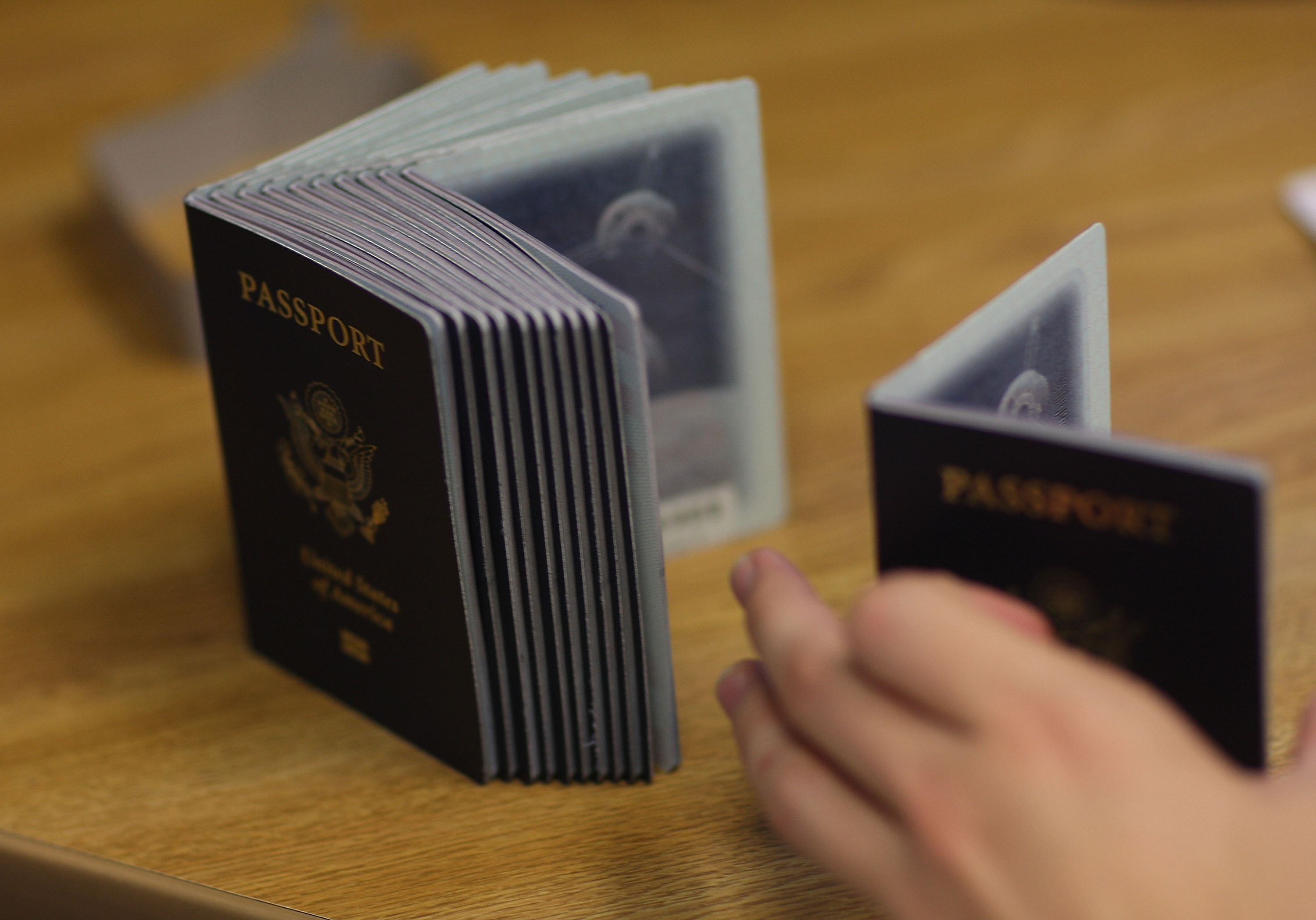 Kerry Started Over An Infant's Passport