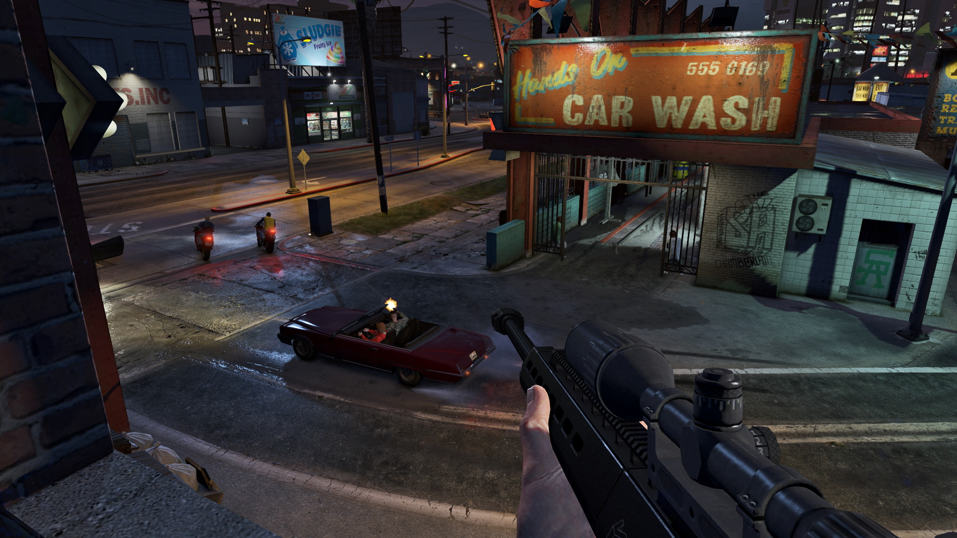 See How Grand Theft Auto Online Looks On Pc Ps4 Xbox One