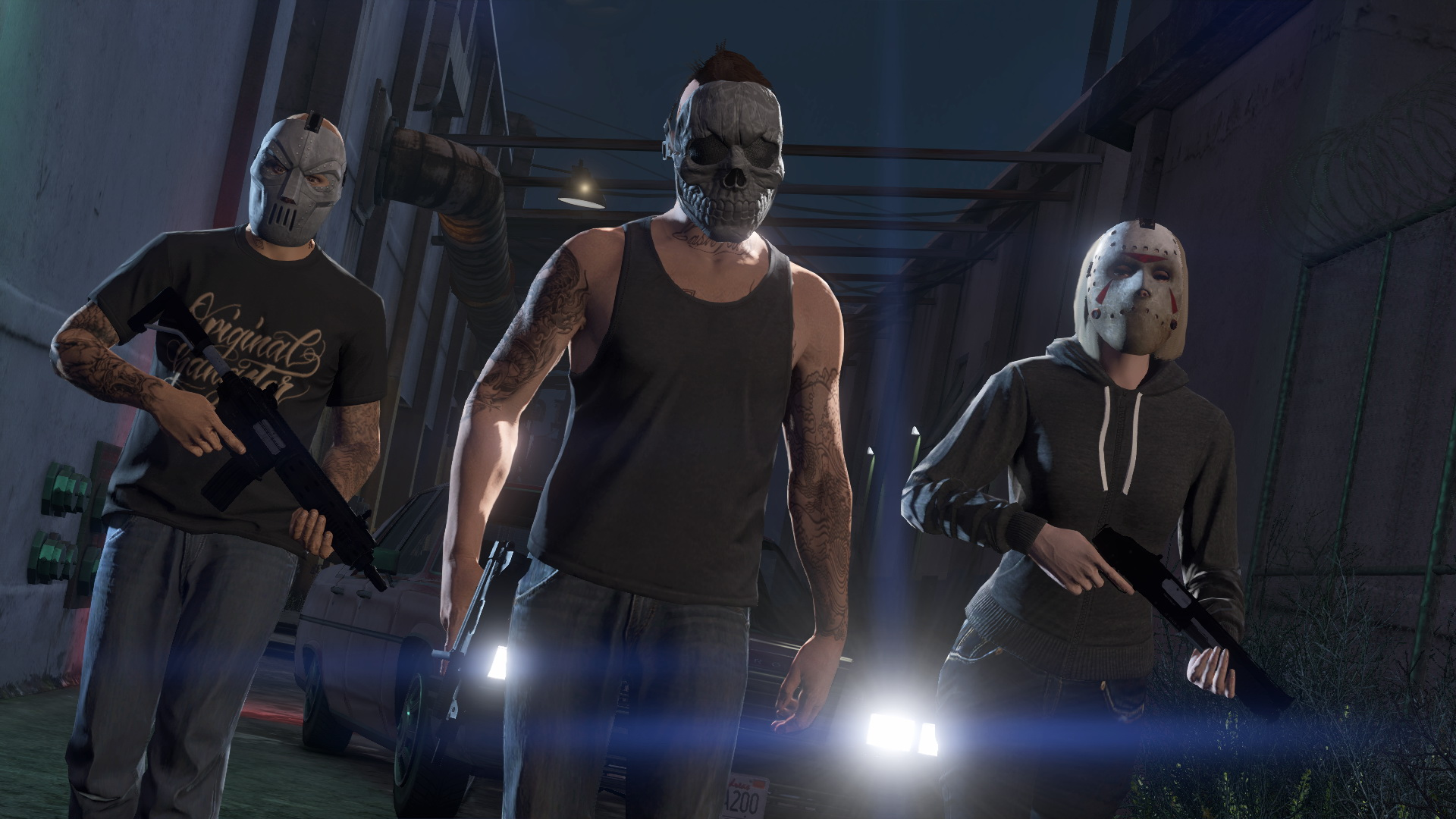 See how Grand Theft Auto Online looks on PC, PS4, Xbox One — and in first-person