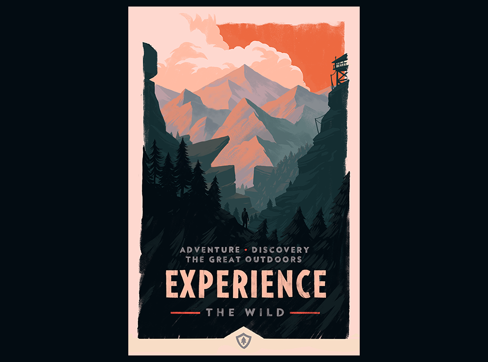 Olly Moss Firewatch Posters Are Super Pretty Super