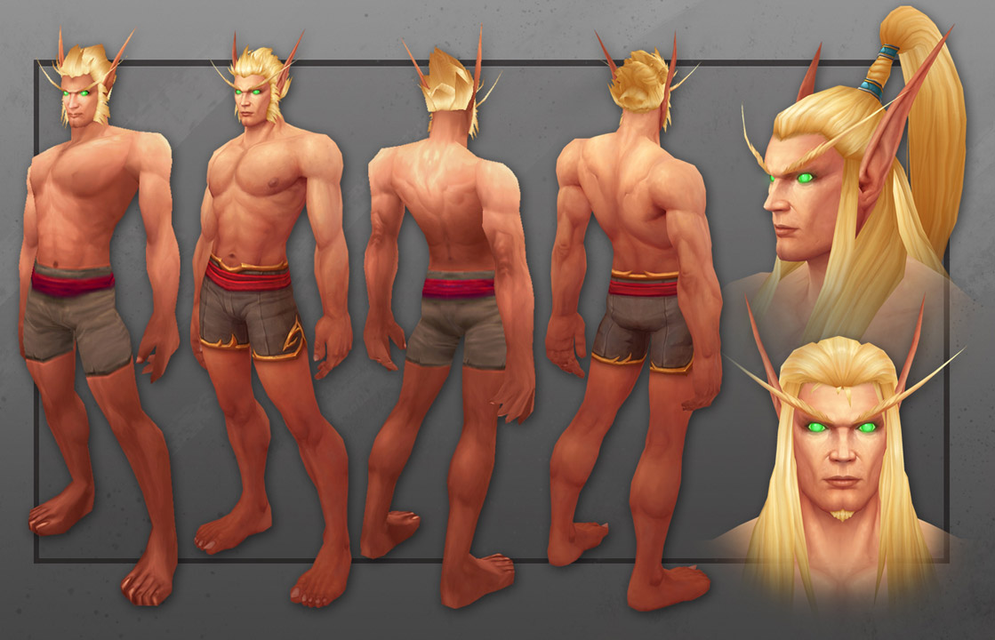 Here Are World Of Warcraft S New Blood Elves Polygon