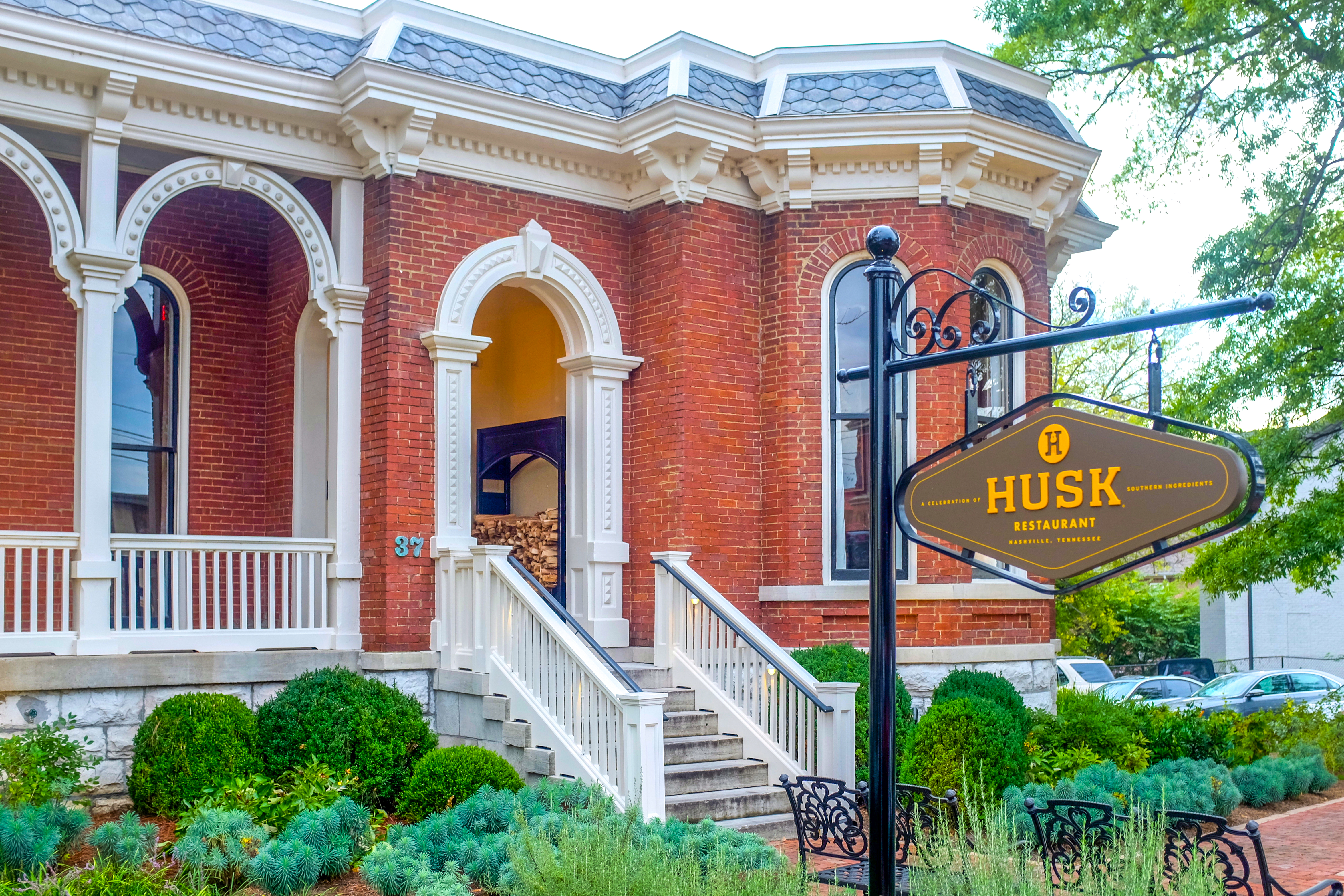 Exterior shot of Husk restaurant in Nashville