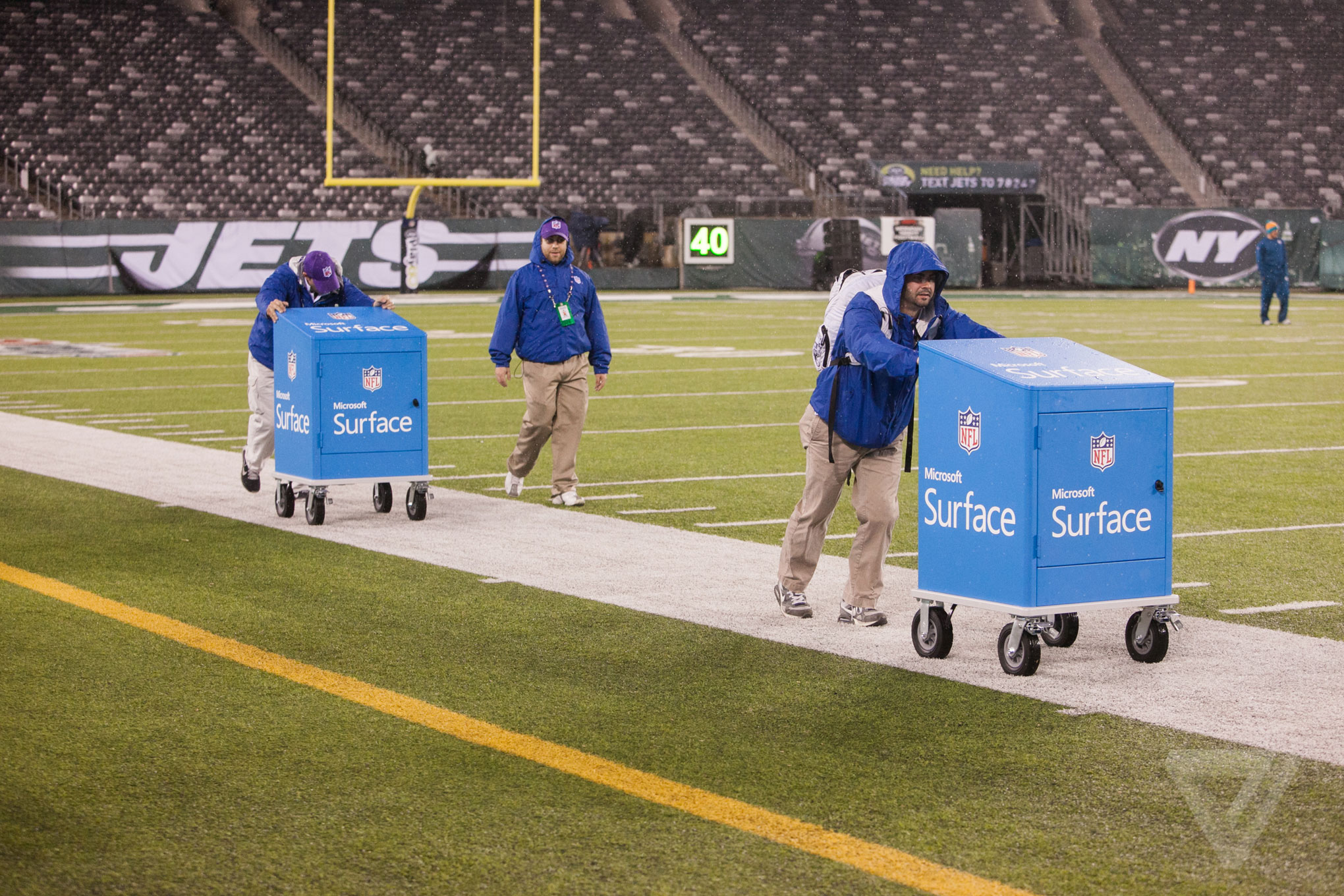 How Surface tablets are changing the way NFL coaches work