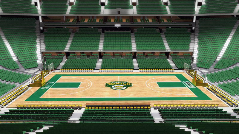 Analyzing the Return of the Seattle SuperSonics From an Aesthetic Standpoint