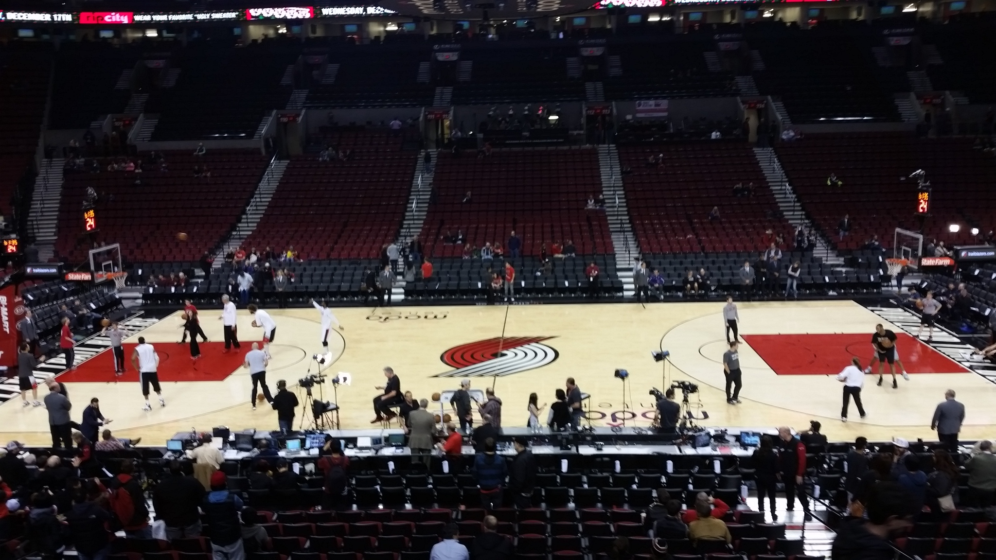 Portland Trail Blazers vs. San Antonio Spurs: In-Arena Report from ...