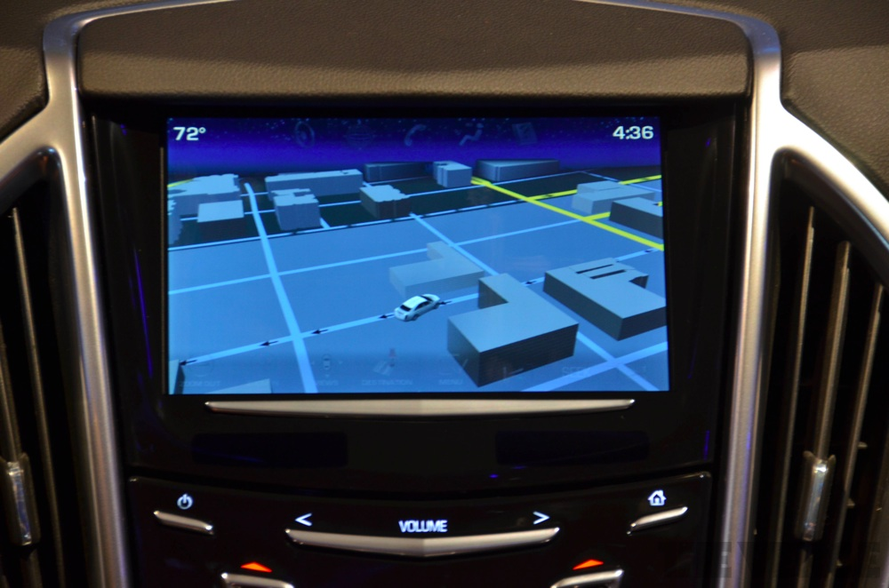 Cadillac's Cue in-car 'connected driving' system: photos