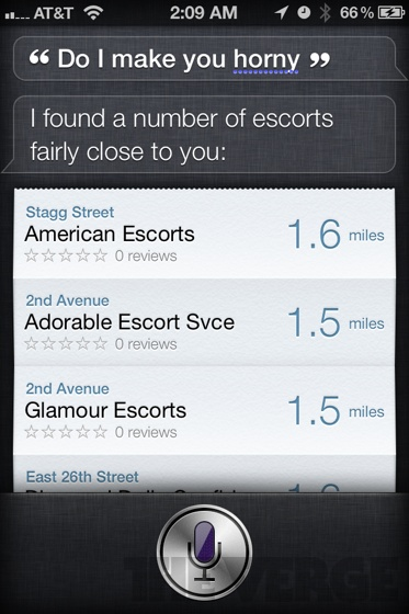 siri says some weird things the verge