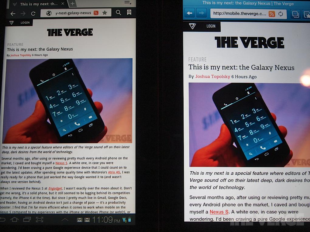 Samsung Galaxy Tab 7 0 Plus review - The Verge
