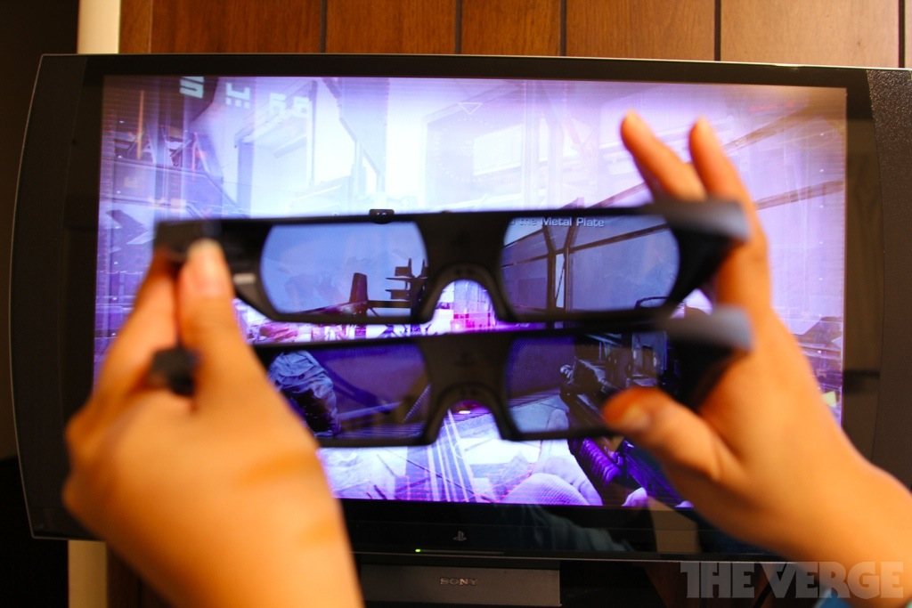 Sony Playstation 3d Display Review The Verge