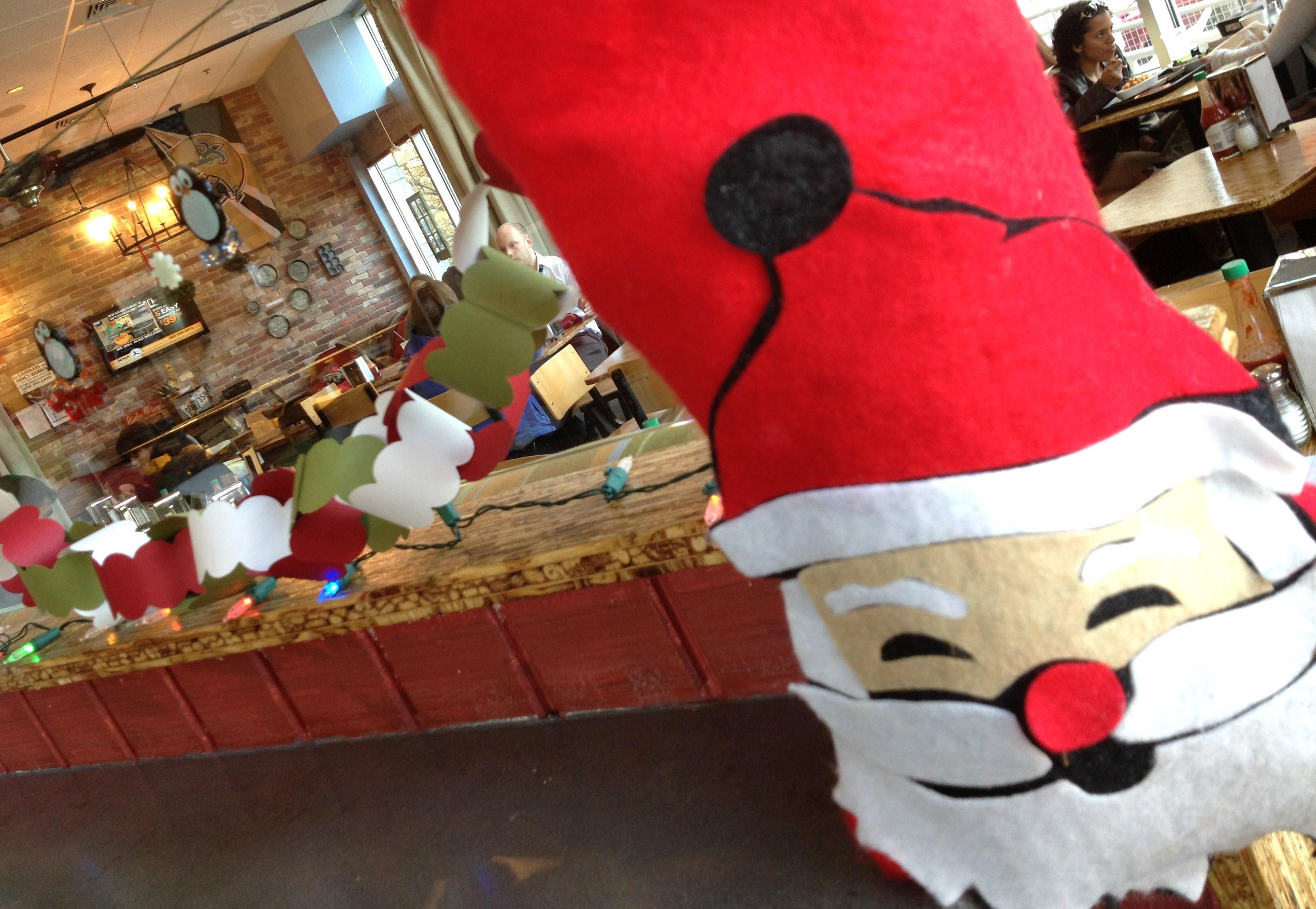 bayou bakery courtesy of bayou bakery - Christmas Decorations In Restaurants