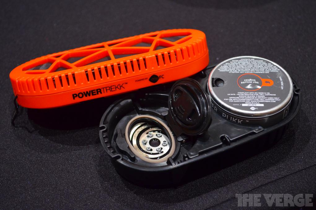 PowerTrekk mobile fuel cell hands-on pictures - The Verge