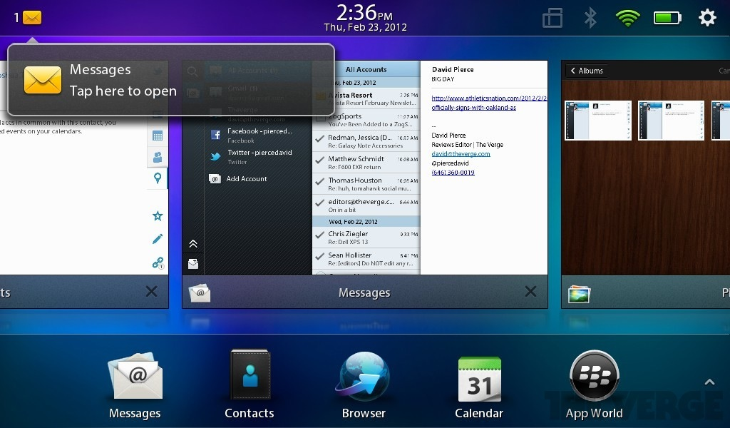BlackBerry PlayBook 2 0 review - The Verge