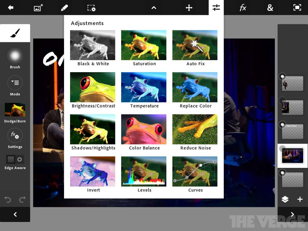 Photoshop Touch for iPad 2 Available Now