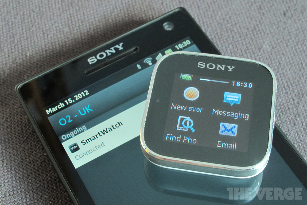 Sony SmartWatch review - The Verge
