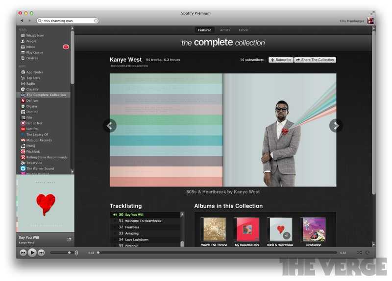 Spotify's new apps are handsome but useless (hands-on) - The