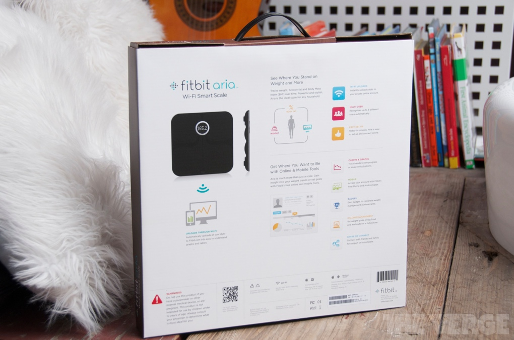 Fitbit Aria Wi Fi Scale Review The Verge
