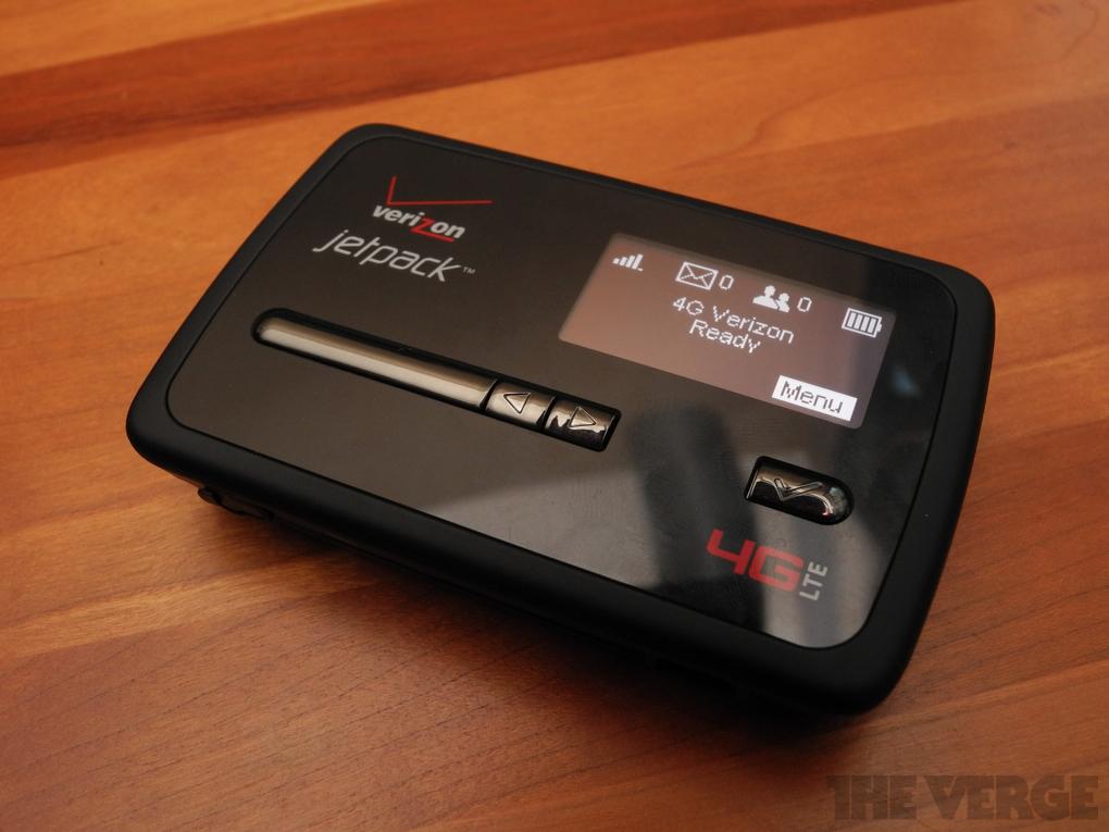 Verizon Jetpack 4620L mobile hotspot review - The Verge