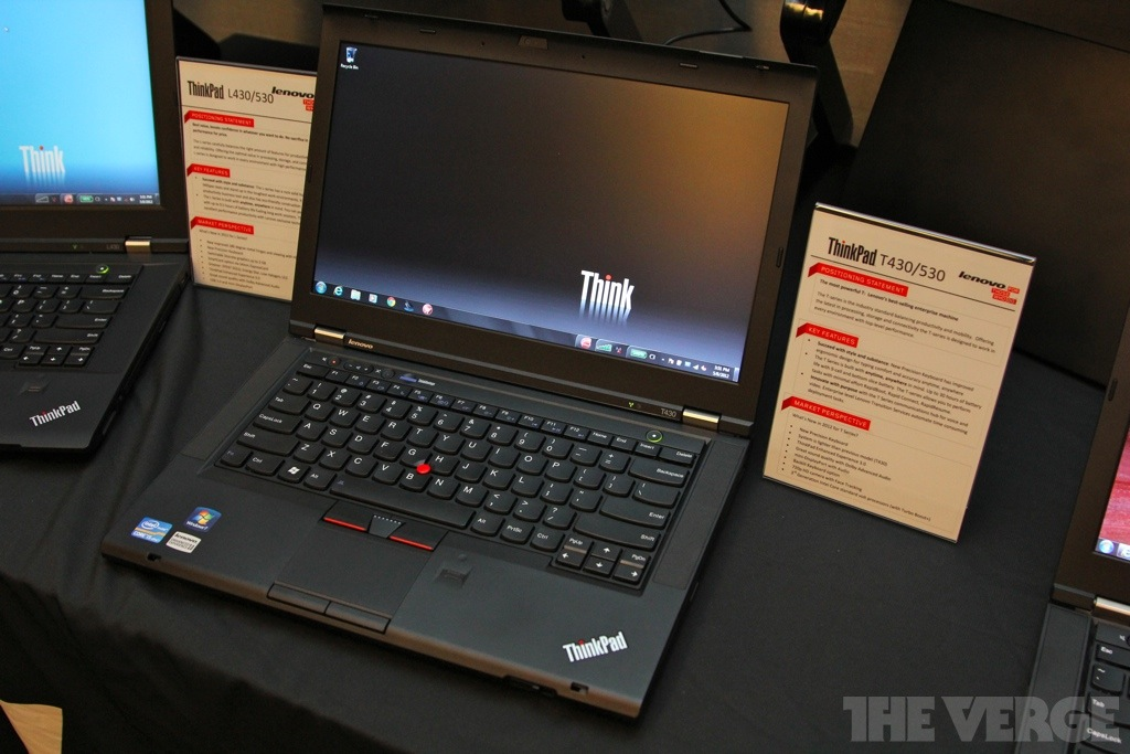 Lenovo announces 2012 ThinkPad lineup, including Ivy Bridge