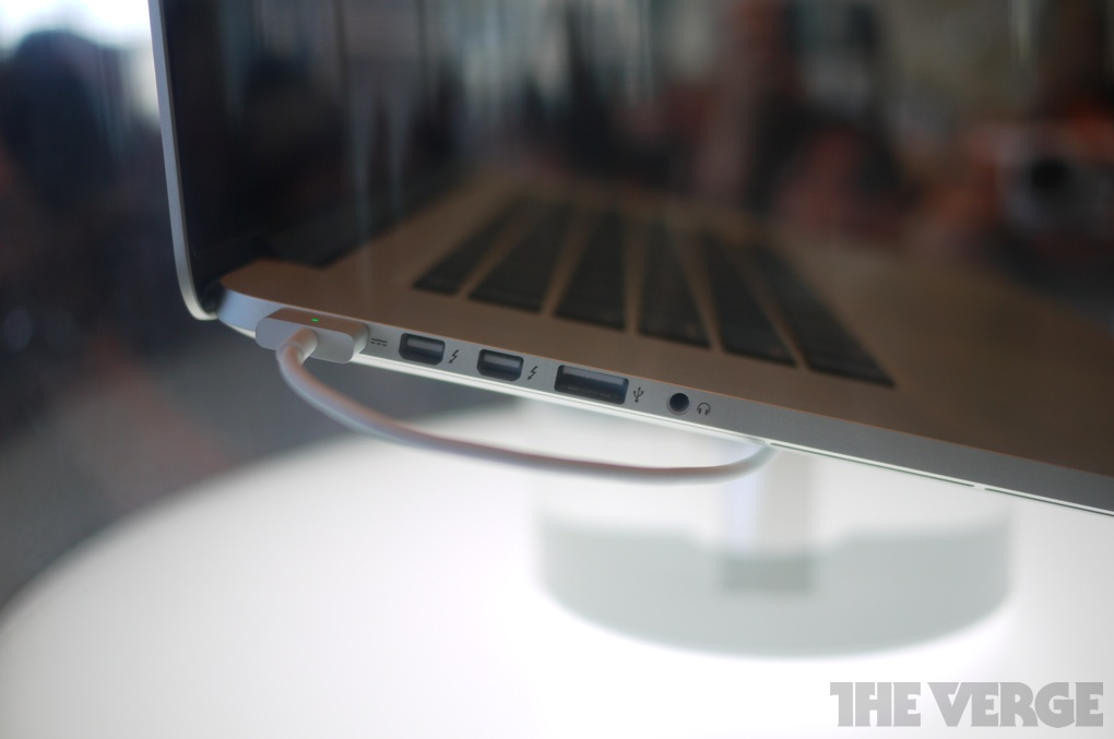 New Macbook Pro With Retina Display First Look The Verge