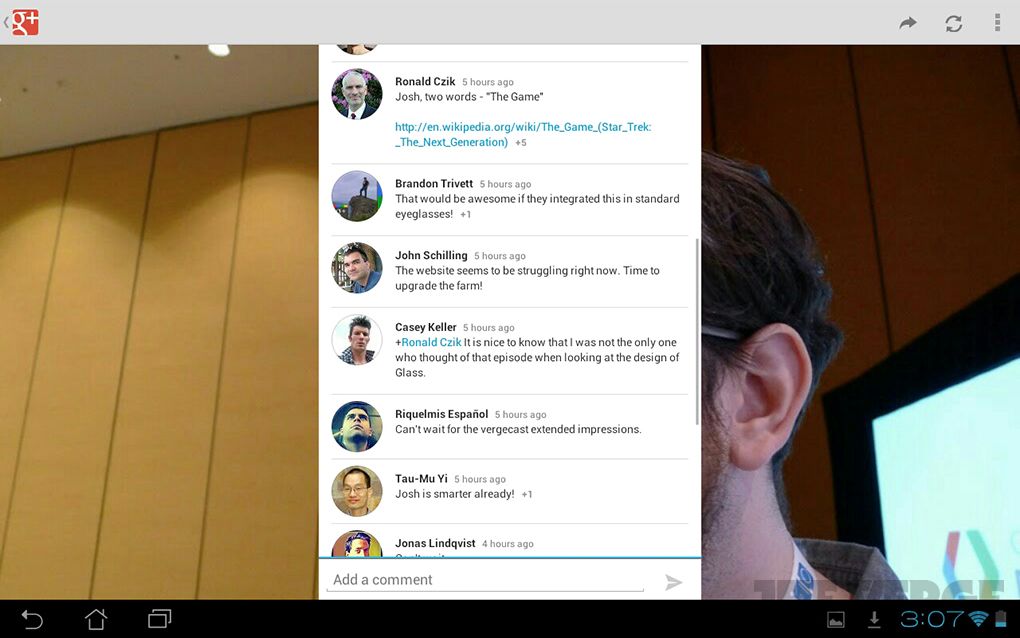 Hands-on with new Google+ tablet app and events features
