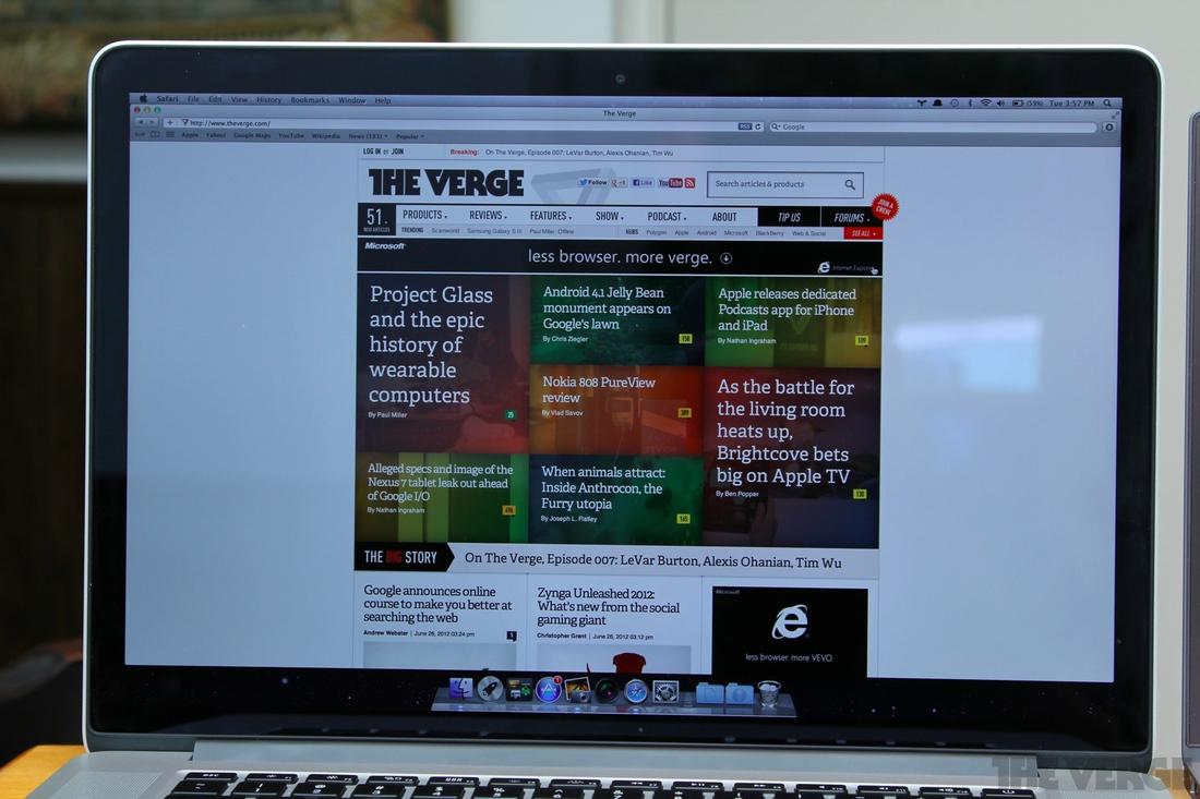 Pixel density showdown: Asus Zenbook Prime UX31A vs  MacBook Pro