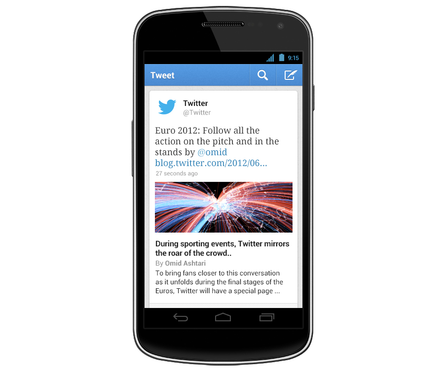 Twitter for iOS and Android updated with content previews