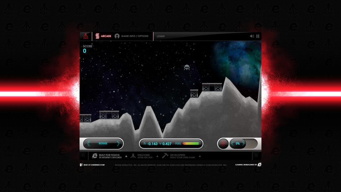 Microsoft and Atari HTML5 browser games screenshots - The Verge