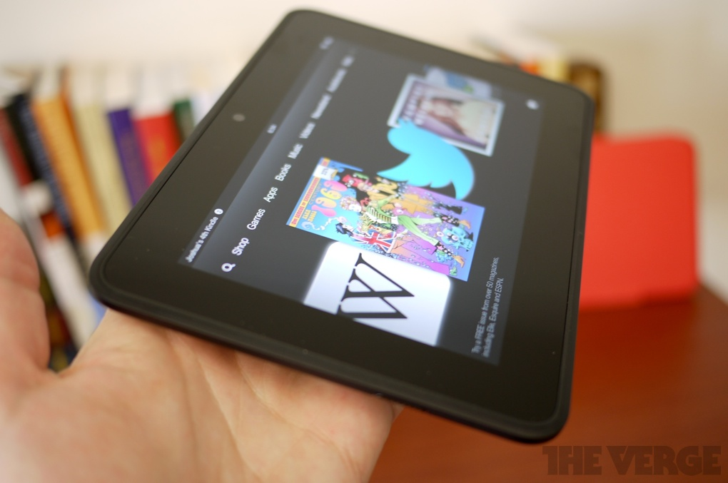 Amazon Kindle Fire HD review (7-inch) - The Verge