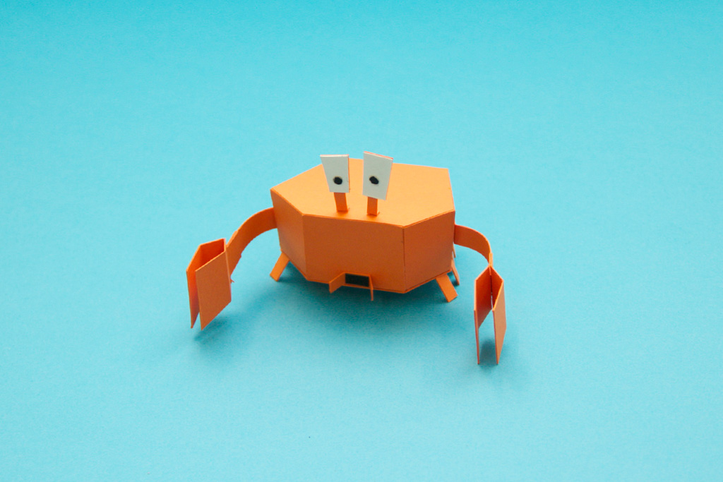 Video Game Origami Derrick The Deathfin Goes From Paper To