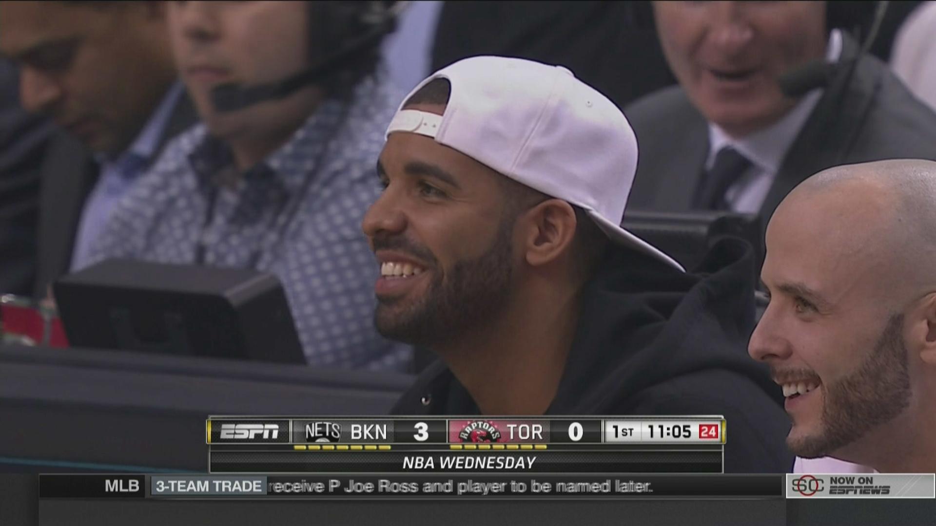 Raptors celebrate 'Drake Night' 2 against Nets