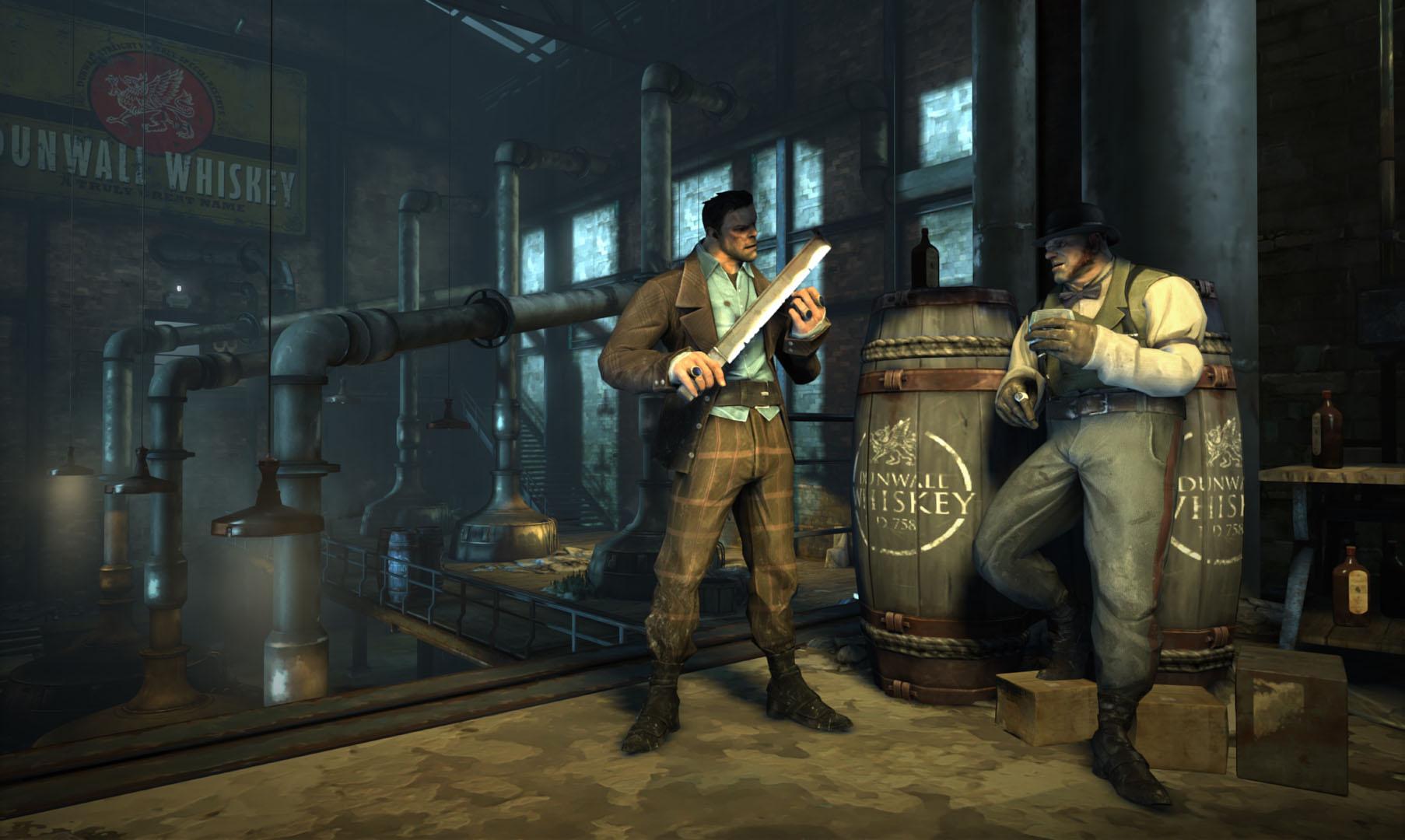دانلود بازی dishonored death of the outsider steampunks برای pc