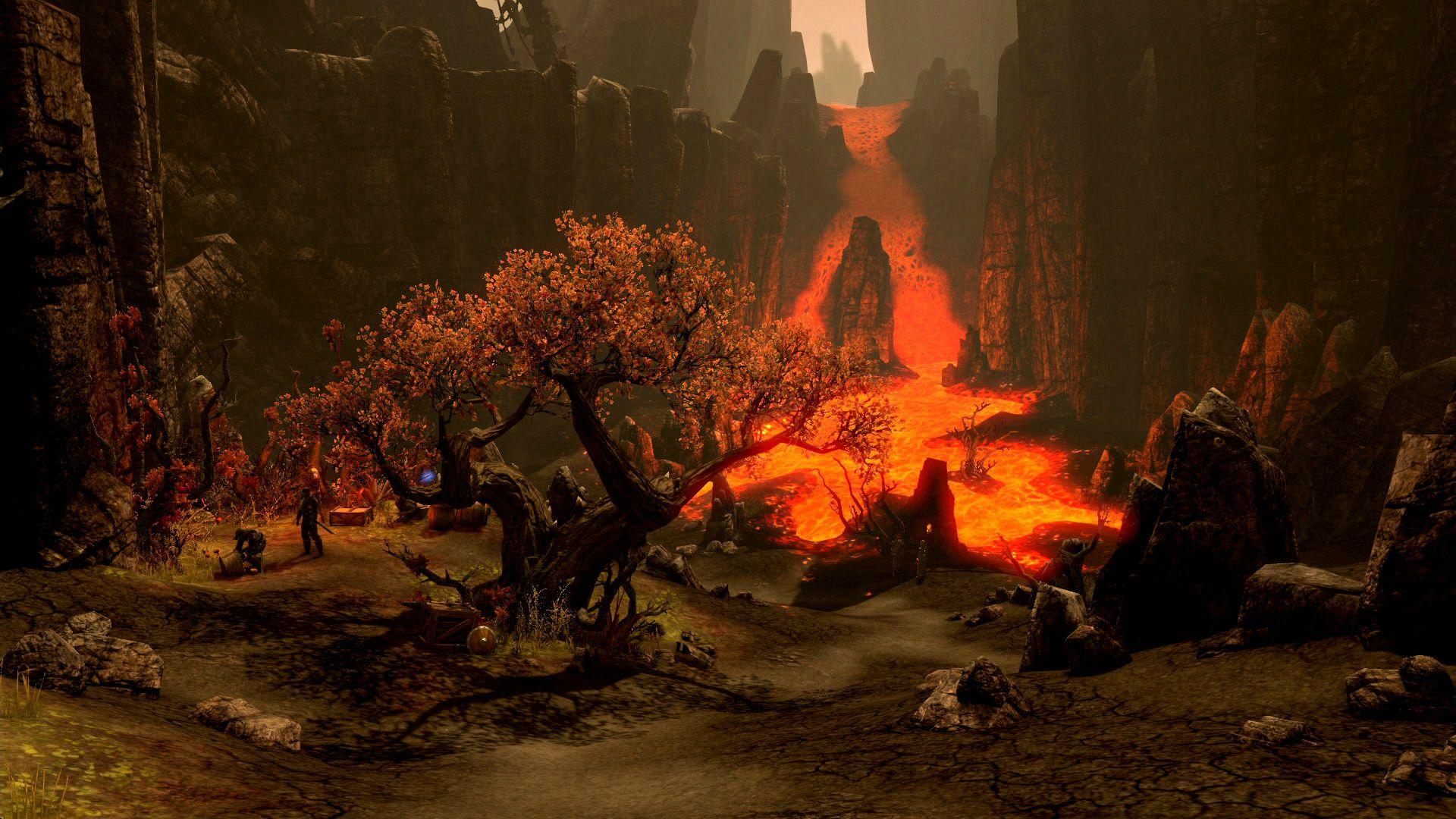 The Elder Scrolls Online screenshots reveal an ancient world