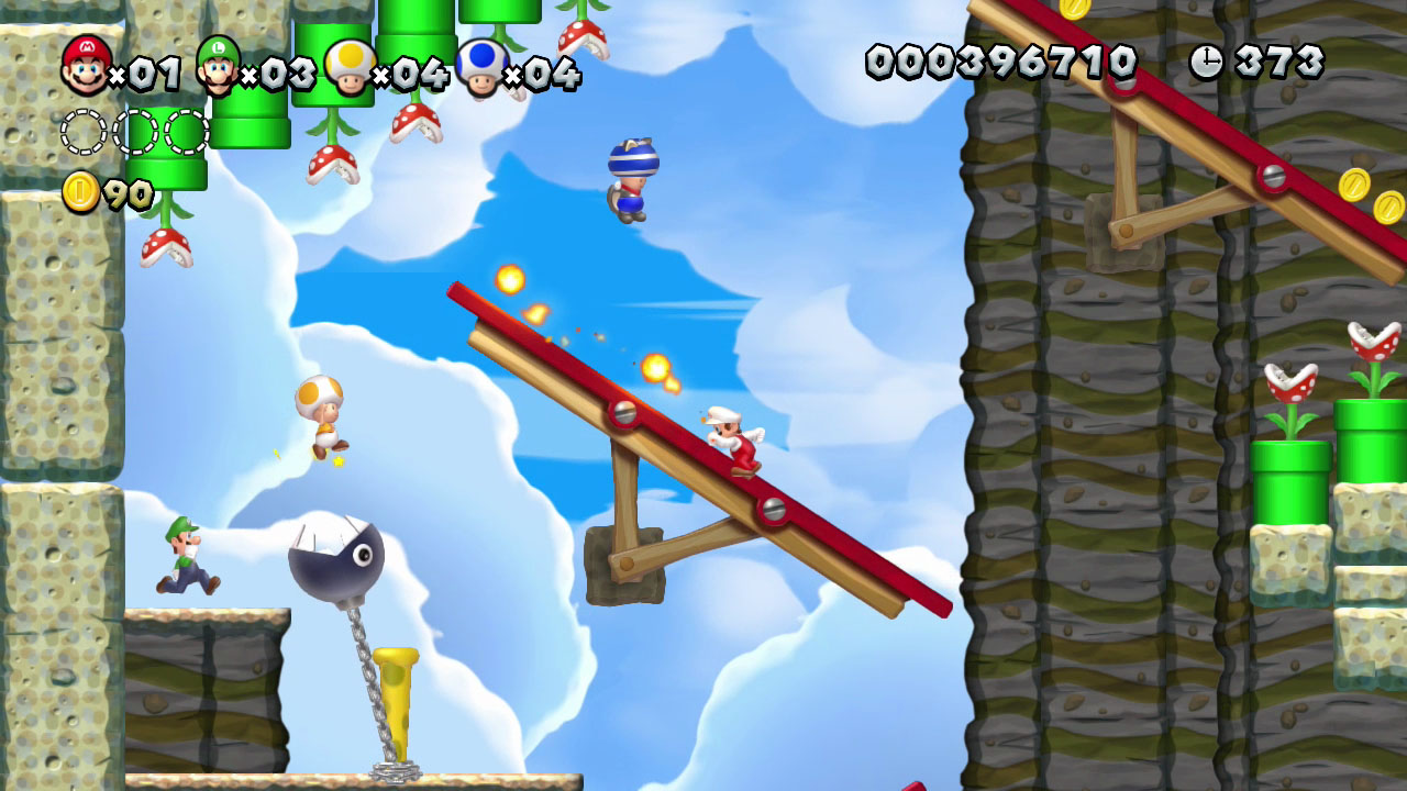 New super mario bros u review new tricks polygon 1 of 15 gumiabroncs Gallery