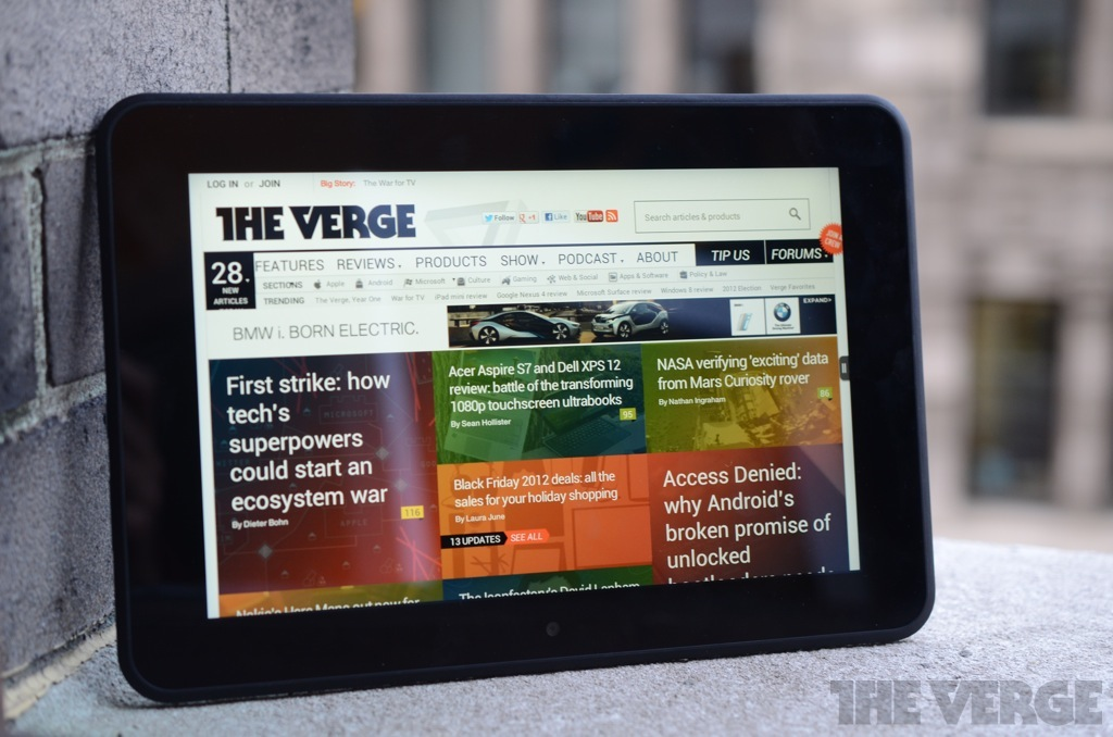 Amazon Kindle Fire HD 8 9 review - The Verge