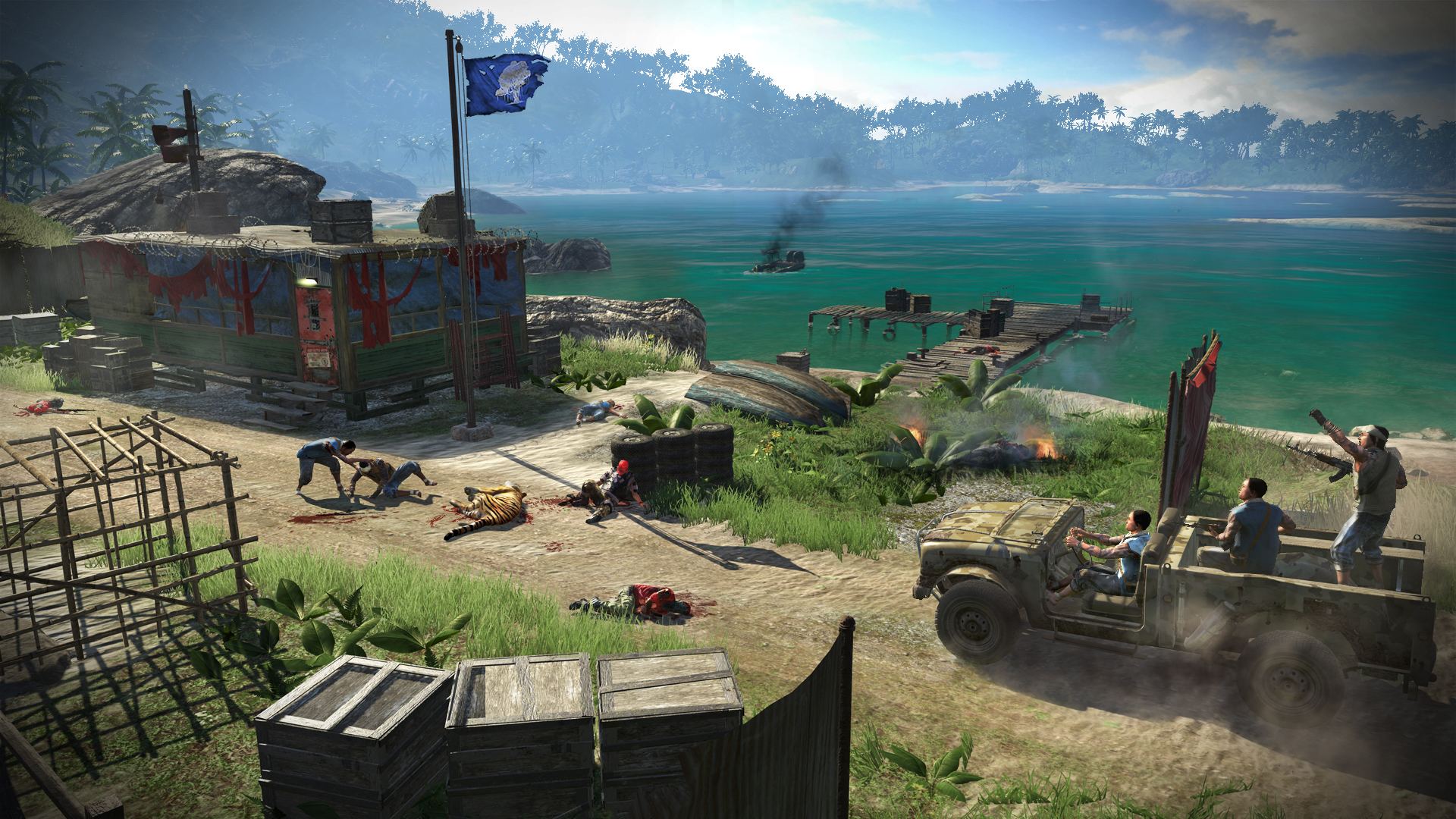 Far Cry 3 Review Human Nature Polygon