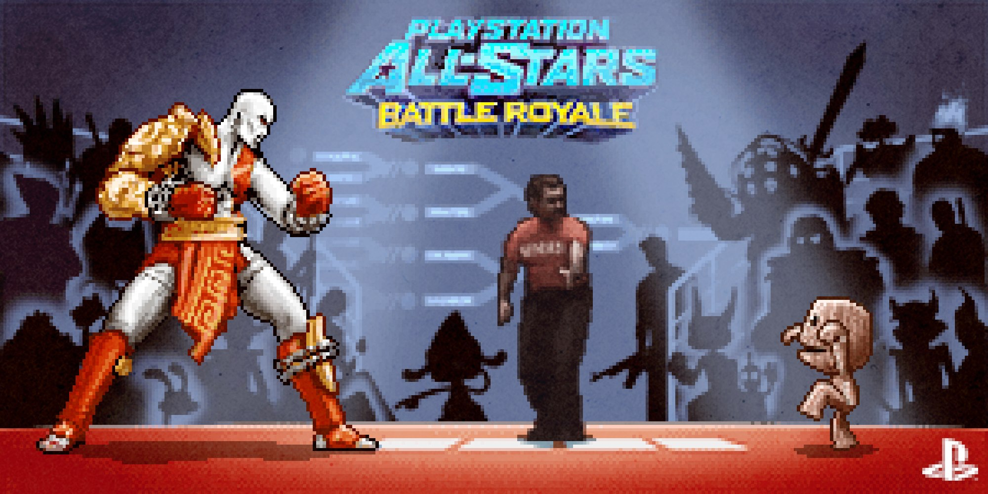 Artist creates PlayStation All-Stars: Battle Royale 16-bit