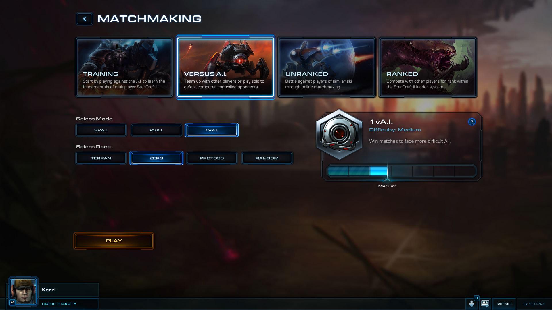 Starcraft 2 matchmaking screen not loading