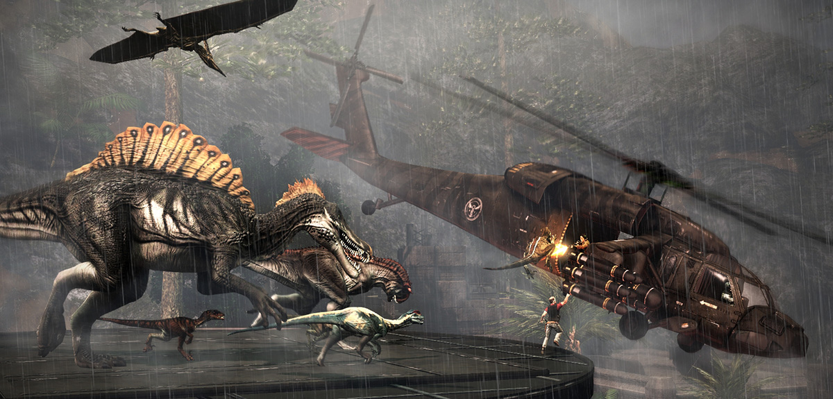 Primal Carnage's Get to the Chopper mode now available as