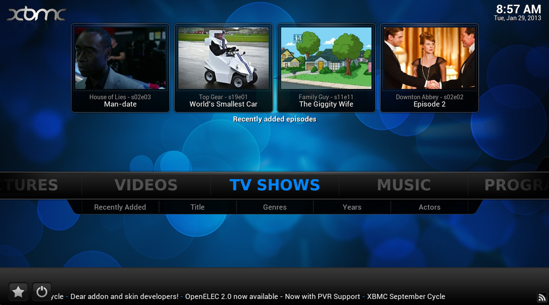 XBMC 12 'Frodo' now available: adds Raspberry Pi and
