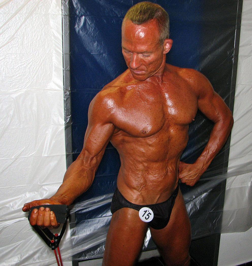 Gay bodybuilder